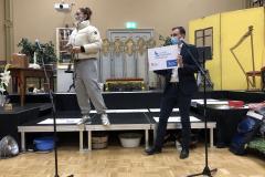 Frau Prof. Scholz von der Burg hält die Laudatio für den Siegerentwurf